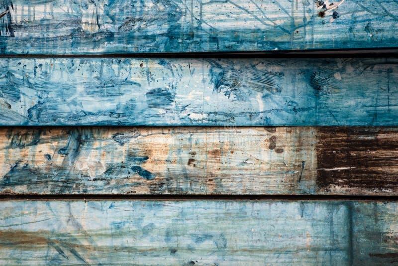 Gemalter alter Metallhintergrund sieht wie Holz aus stockfotografie