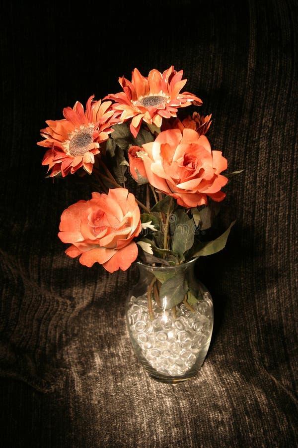 Gemalter Blumenstrauß lizenzfreie stockbilder