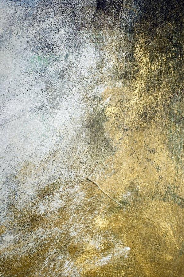 Gemalter Wandhintergrund stockbild