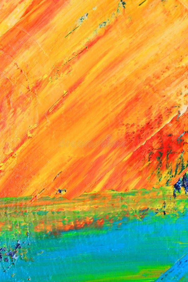 Gemaltes Segeltuch asbackground stockbilder