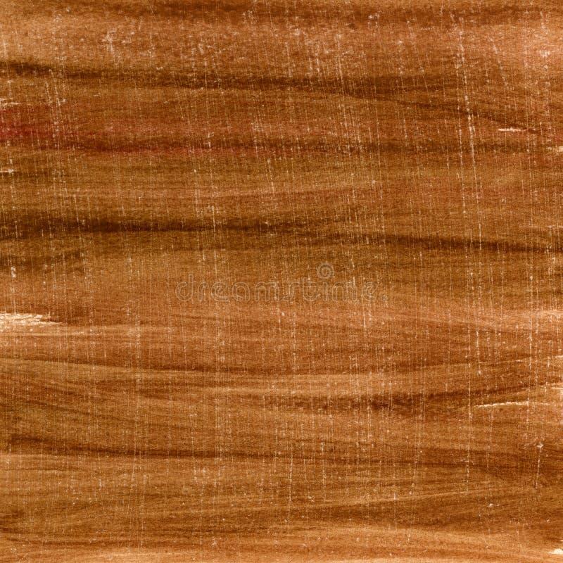 Gemaltes und gelöschtes Papier des Brown-Aquarells stockbilder