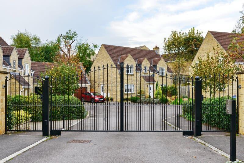 Gemeenschap met poorten stock fotografie