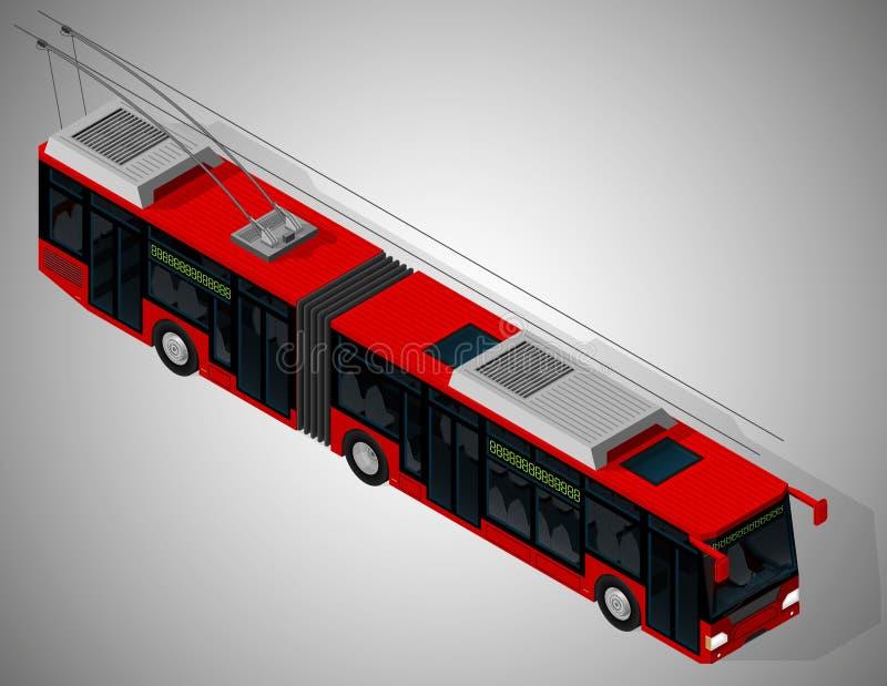 Gemeentelijk vervoer stock illustratie