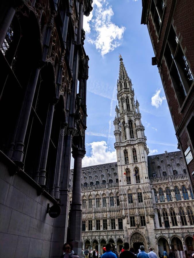 Gemeenteraad/Gemeente in Brussel stock fotografie