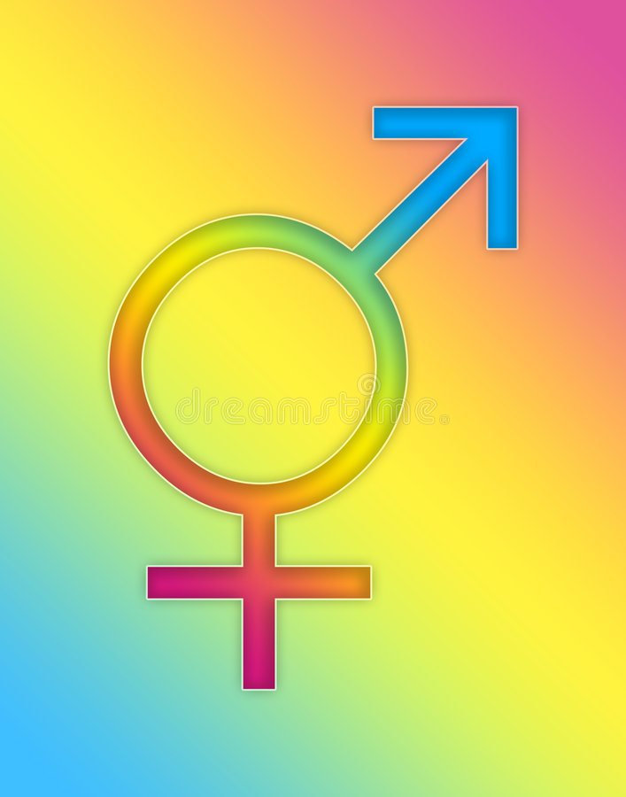 Gemeinsame Geschlechts-Tasten 1 lizenzfreie abbildung