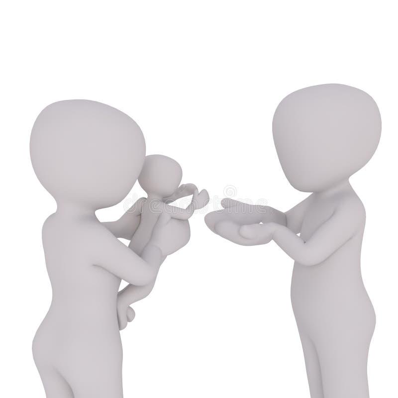 Gemeinsames, menschliches Verhalten, Kommunikation, Hand