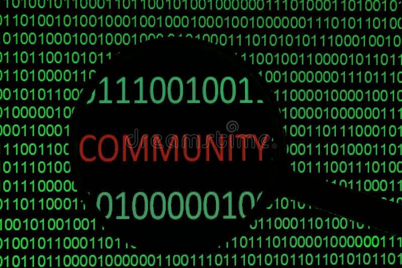 Gemeinschaft lizenzfreies stockfoto