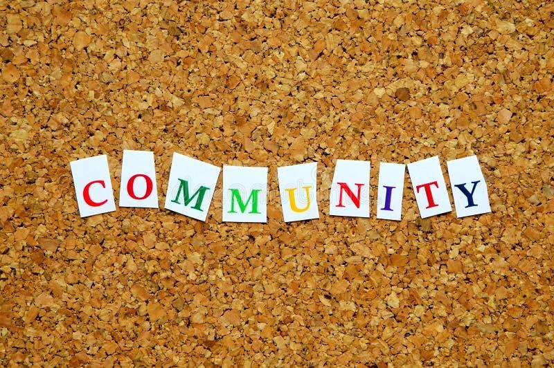 Gemeinschaft lizenzfreie stockbilder
