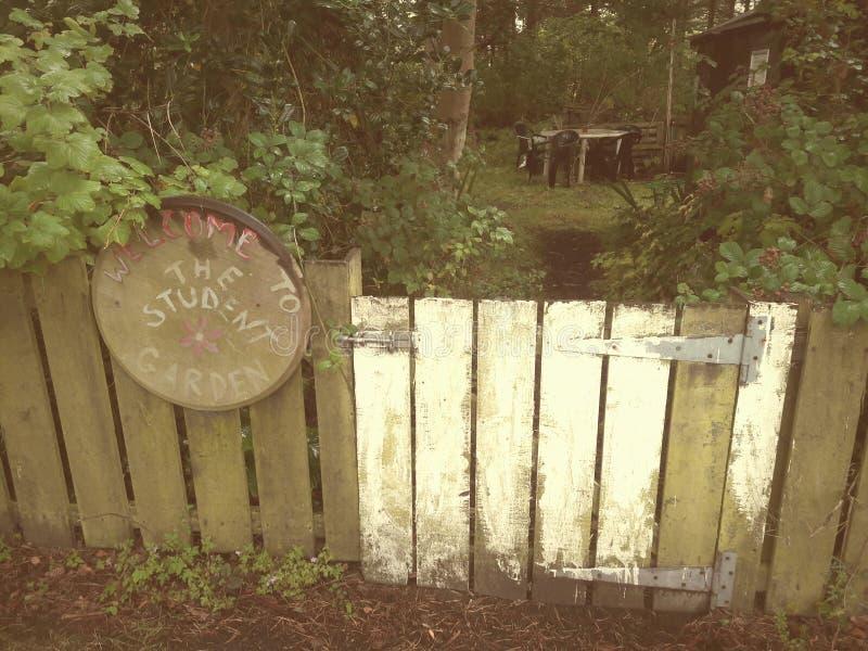 Gemeinschaftsgärten lizenzfreies stockfoto