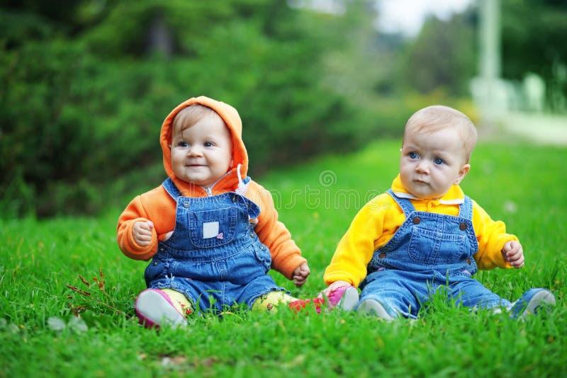 gemelli fotografia stock