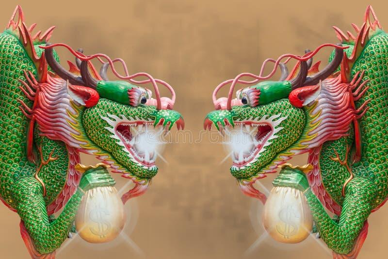 Gemelli il drago royalty illustrazione gratis