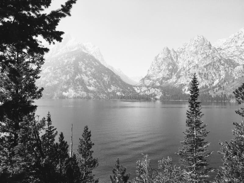 Gemelos - picos de montaña foto de archivo libre de regalías