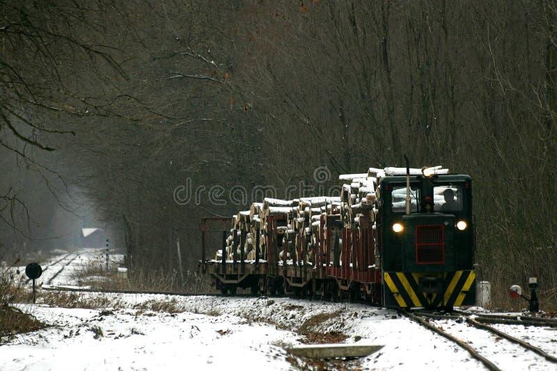 gemenc pociąg towarowy zdjęcia royalty free