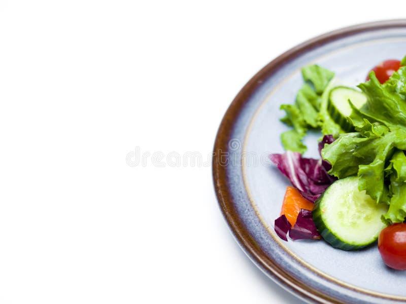 Gemengde groene groenten op glasplaat royalty-vrije stock foto's