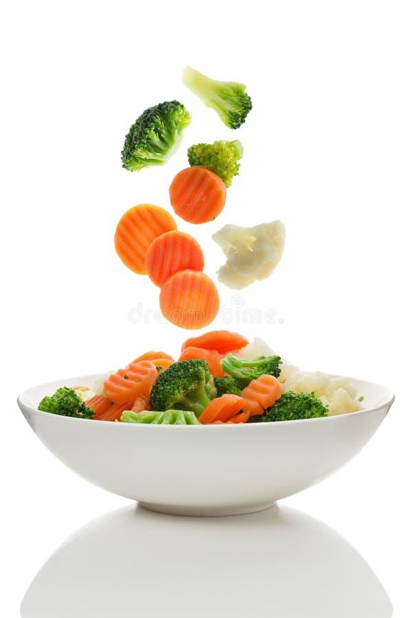 Gemengde groenten stock afbeelding