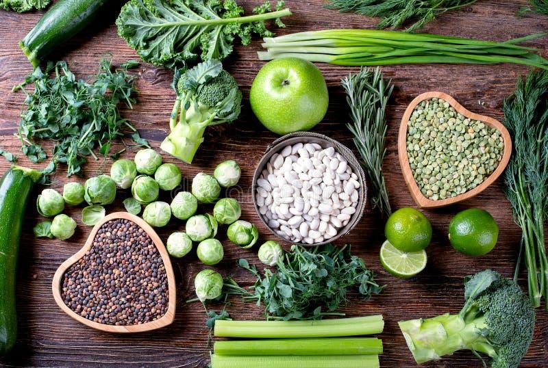 Gemengde groenten, peulvruchten royalty-vrije stock fotografie