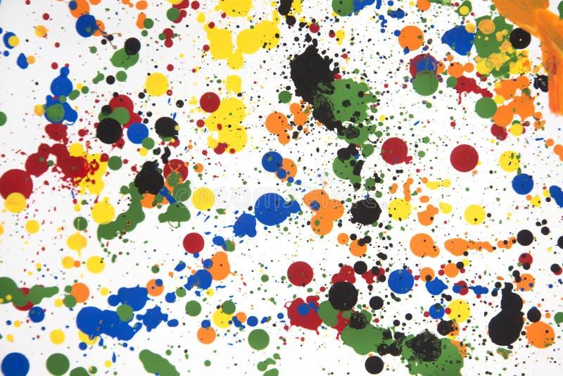 Gemengde Kleuren royalty-vrije stock afbeeldingen