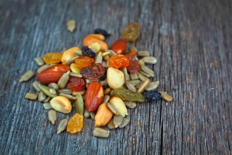 Gemengde noten stock foto
