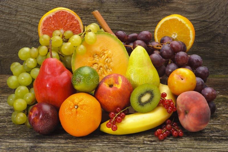 Gemengde vruchten royalty-vrije stock afbeelding