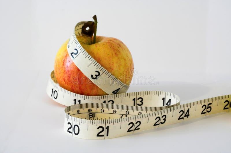 Download Gemeten appel. stock foto. Afbeelding bestaande uit aantallen - 276320