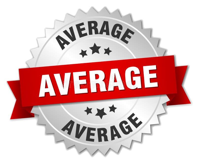gemiddelde stock illustratie