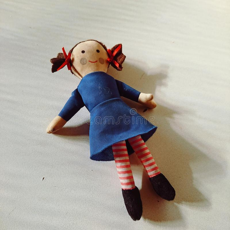 Gemima the doll royalty free stock image