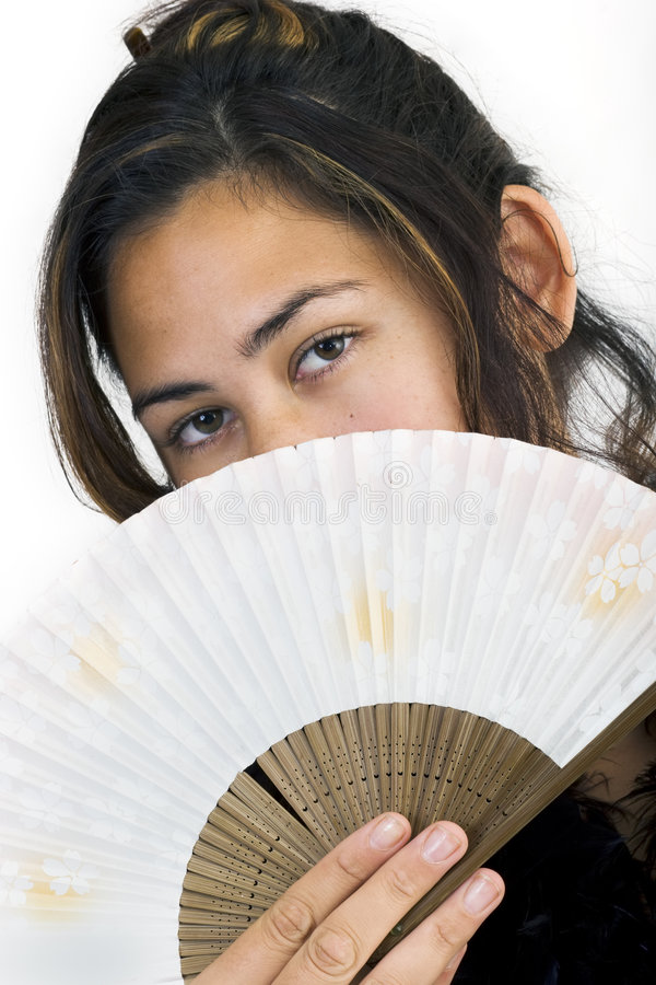 Gemima Fan 3 Stock Images