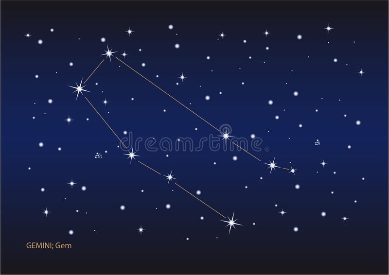 Download Gemini Constellation Royalty Free Stock Photos - Image: 11015978