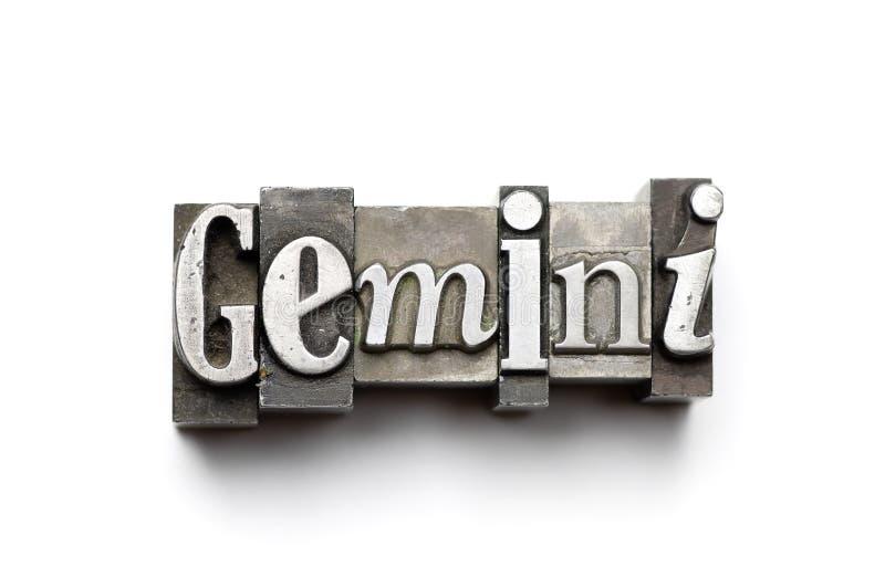 Gemini Zodiac Sign royalty free stock photo
