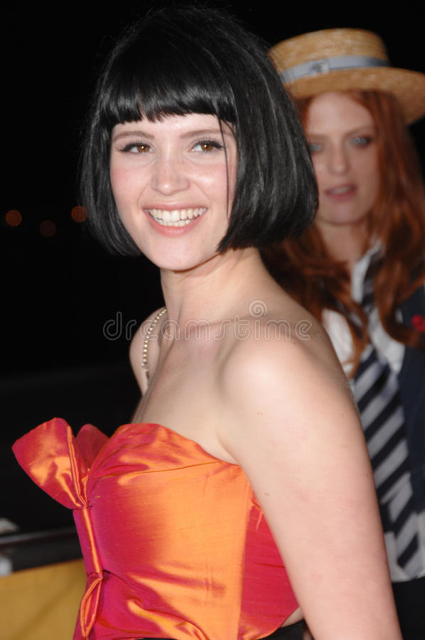 Gemma Arterton. At St. Trinian's party at the 60th Annual International Film Festival de Cannes. May 20, 2007 Cannes, France. 2007 Paul Smith / Featureflash royalty free stock photography