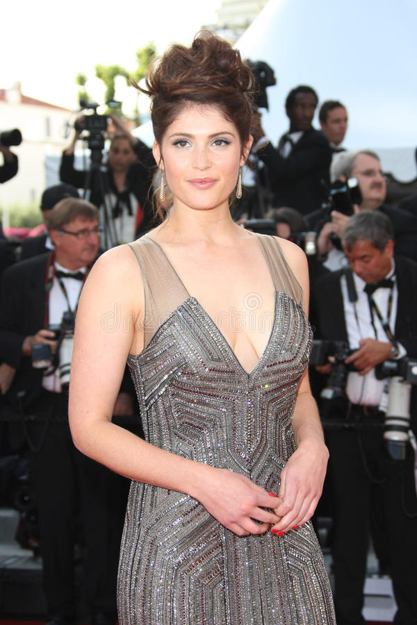 Gemma Arterton. Arriving for the 'Madagascar 3' premiere- during the 65th Cannes Film Festival Cannes, France. 18/05/2012 Picture by: Henry Harris / stock images