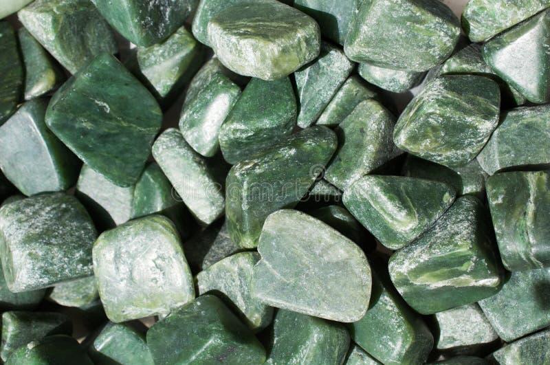 gemma della giada come roccia minerale naturale immagine stock libera da diritti
