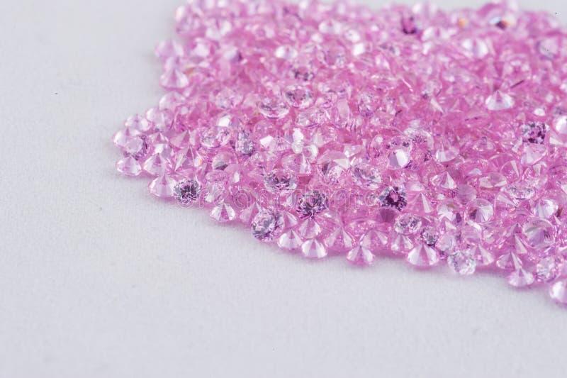 Gemme di lusso di rosa dei gioielli fotografie stock