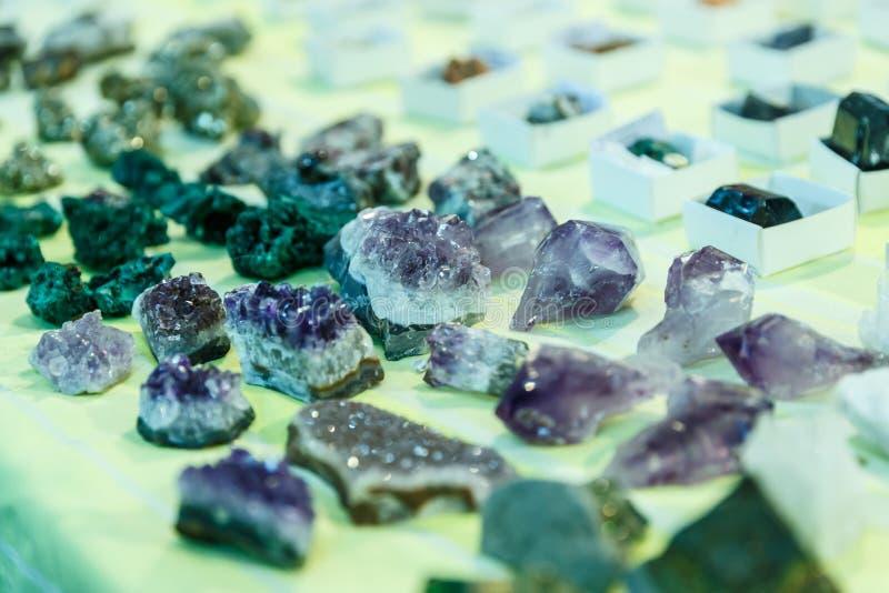 Gemme e minerali rari fotografie stock libere da diritti