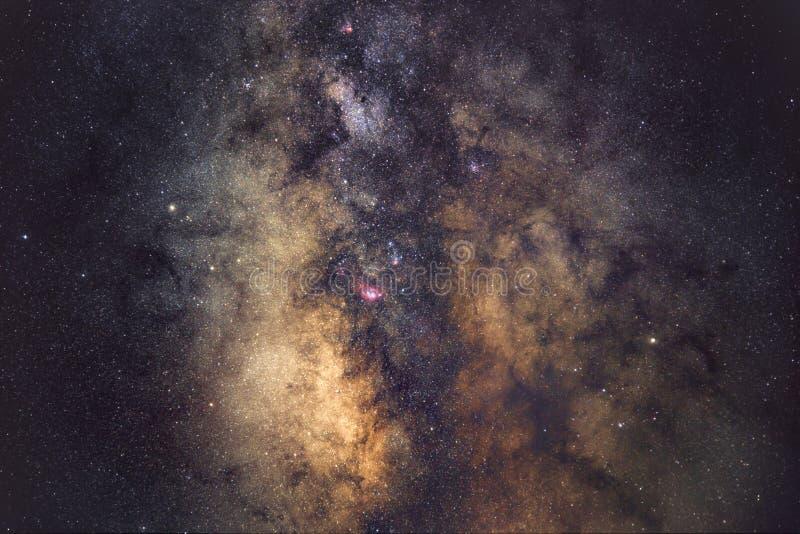 Gemme galattiche fotografia stock libera da diritti