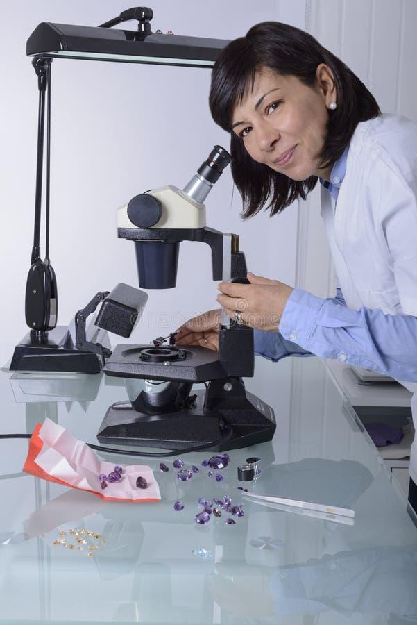 Gemologist zdjęcie royalty free