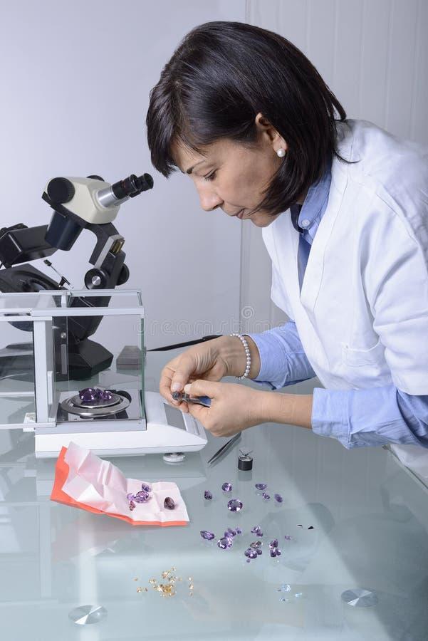 Gemologist obrazy stock