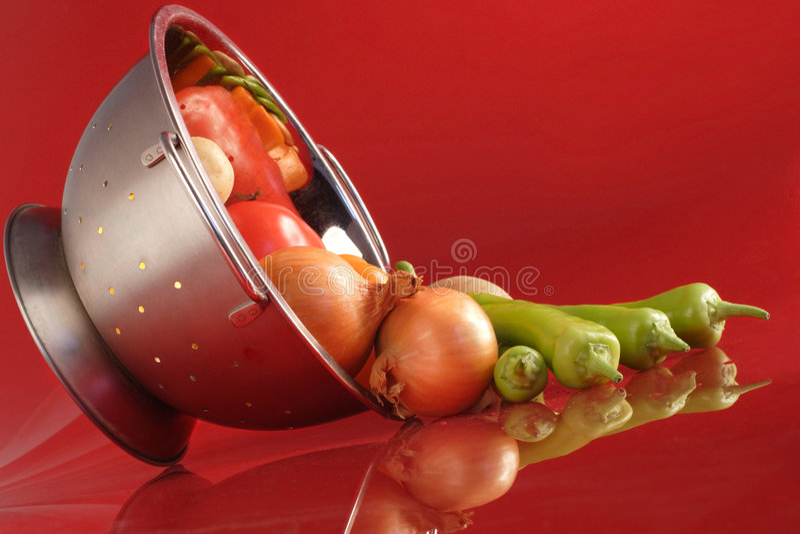 Gemorste groenten royalty-vrije stock fotografie