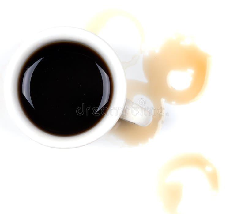 Gemorste koffie royalty-vrije stock afbeeldingen