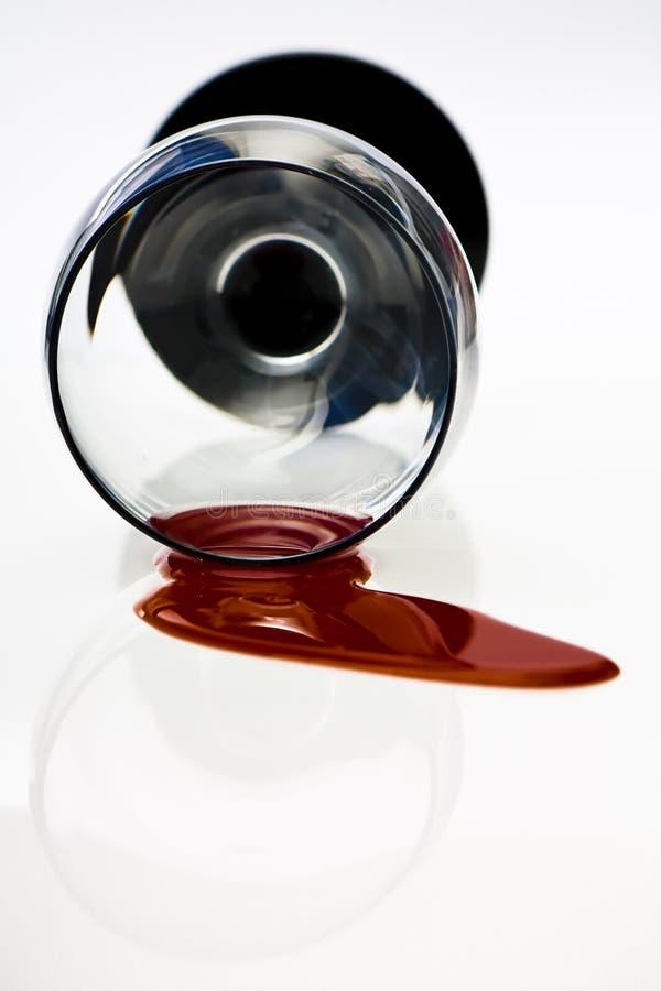 Gemorste Rode wijn stock afbeeldingen