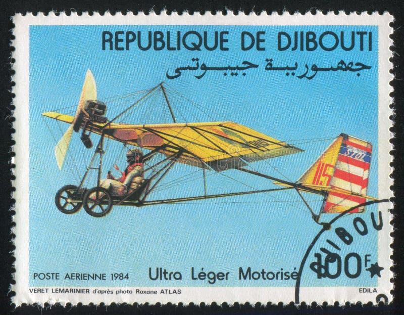 Gemotoriseerd Hang Gliders stock foto's