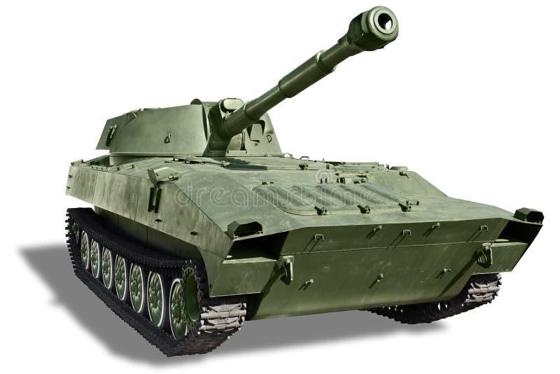 Gemotoriseerde artillerie royalty-vrije stock afbeeldingen