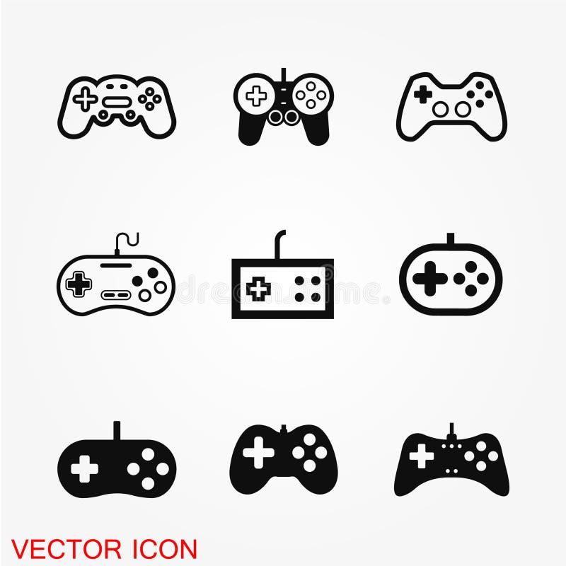 Gemowa kontroler ikona ilustracja wektor