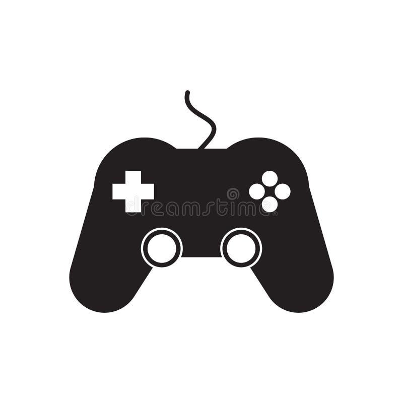 Gemowa kontroler ikona royalty ilustracja