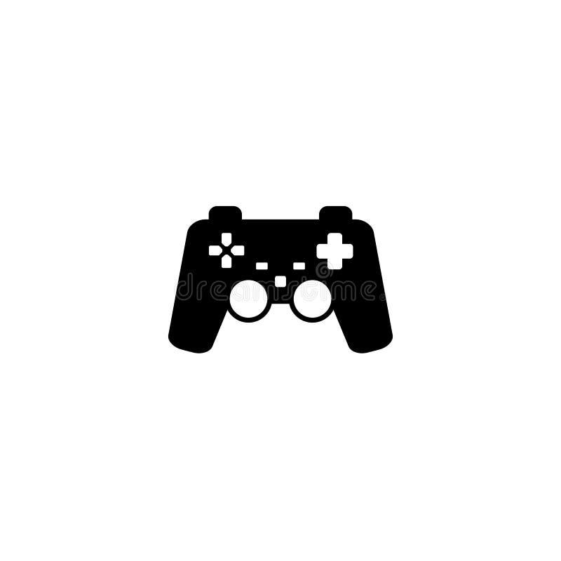 Gemowa kontroler ikona wektor royalty ilustracja