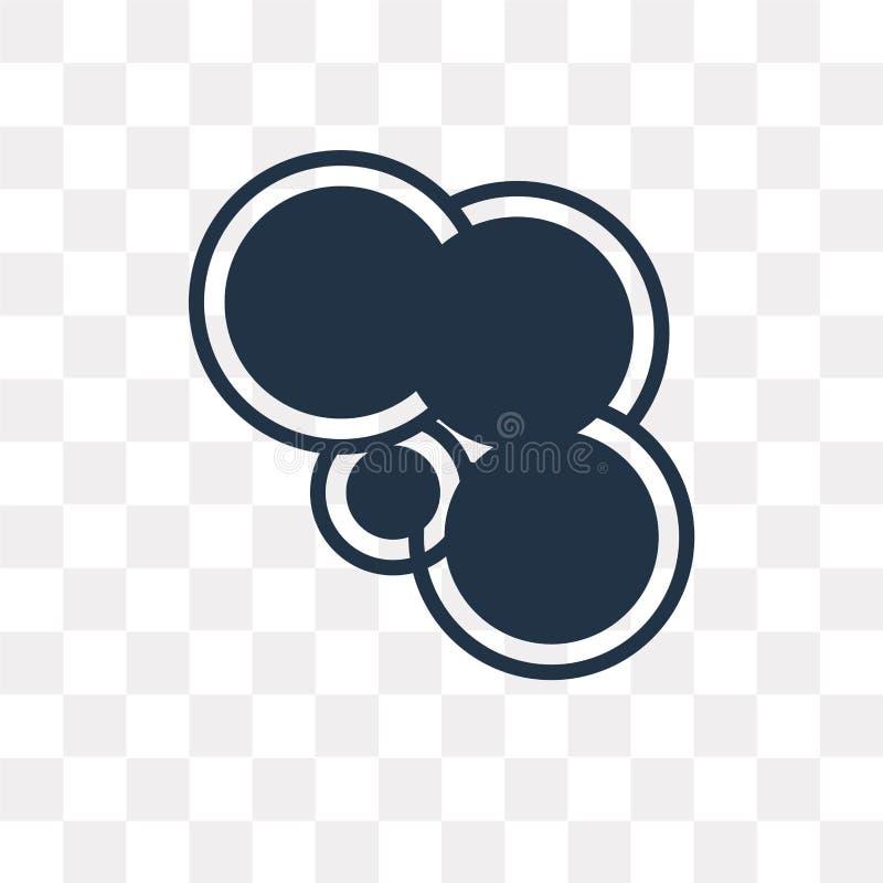 Gemowego centrum wektorowa ikona odizolowywająca na przejrzystym tle, gra ilustracji