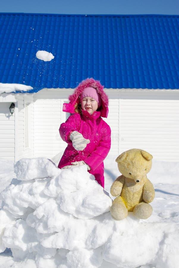 gemowi snowballs zdjęcie stock