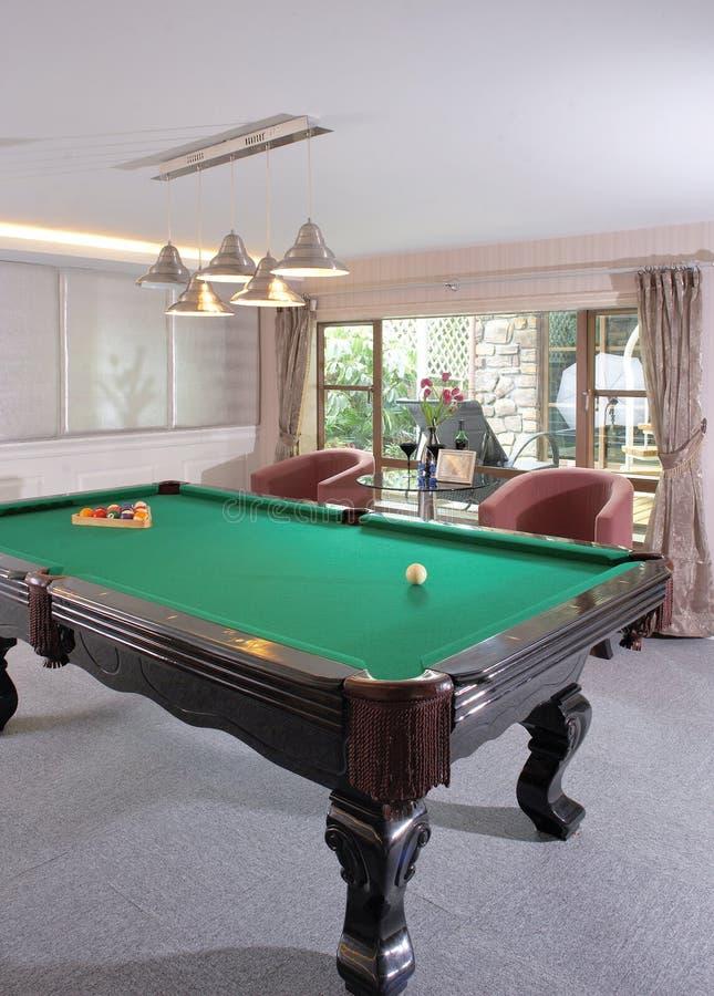 gemowy billiards stół obrazy royalty free