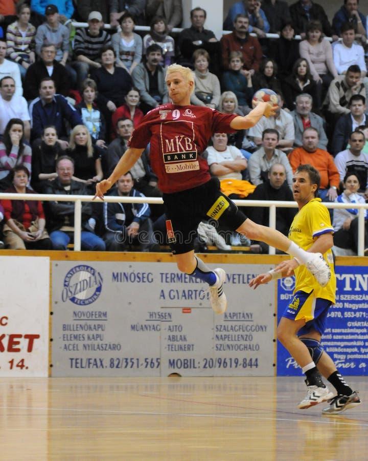 gemowy handball nagyatad veszprem vs fotografia stock