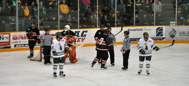 gemowy hokeja lodu ncaa zdjęcia stock
